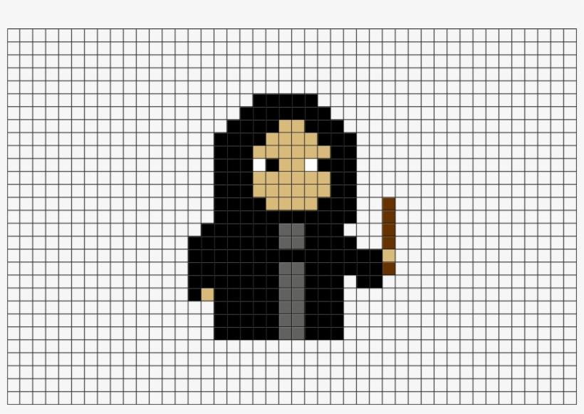 Pixel Art Harry Potter Snape Transparent Png 880x581