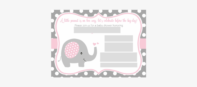 Error Message Plantilla Invitacion Baby Shower Elefante Transparent Png 400x400 Free Download On Nicepng