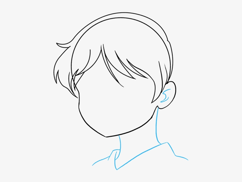 How To Draw An Anime Girl Face Really Easy Drawing Drawing Transparent Png 680x678 Free Download On Nicepng