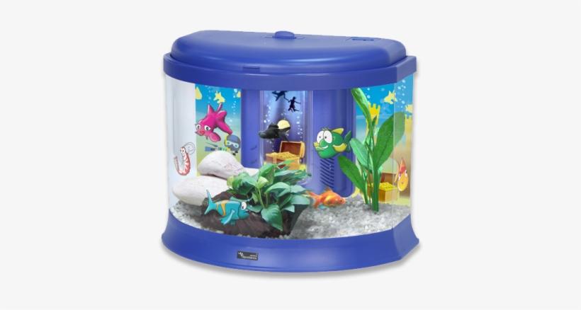 Pink K2 Small Fish Tanks Fish Fish Fish Tank For Kids Transparent