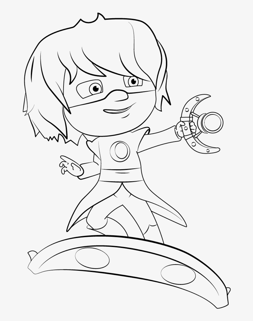 35 Unique Pj Masks Coloring Pages Pj Masks Romeo Coloring Pages Transparent Png 1024x1024 Free Download On Nicepng
