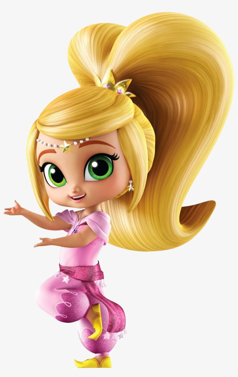 Shimmer Shine Character Leah Transparent Png 964x1440 Free