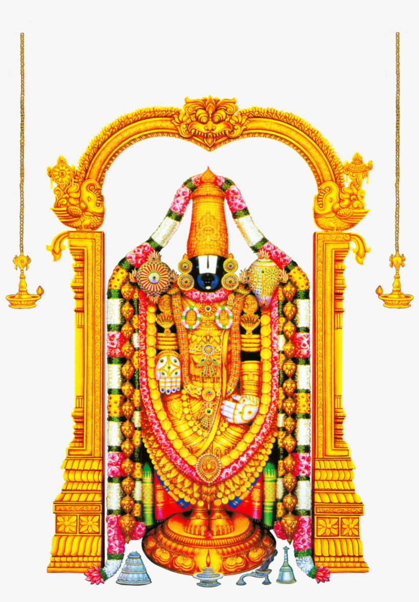 Krishna Clipart Lord Venkateswara Art Factory Tirupati Balaji Lord Venkateswara Canvas Transparent Png 1191x1600 Free Download On Nicepng