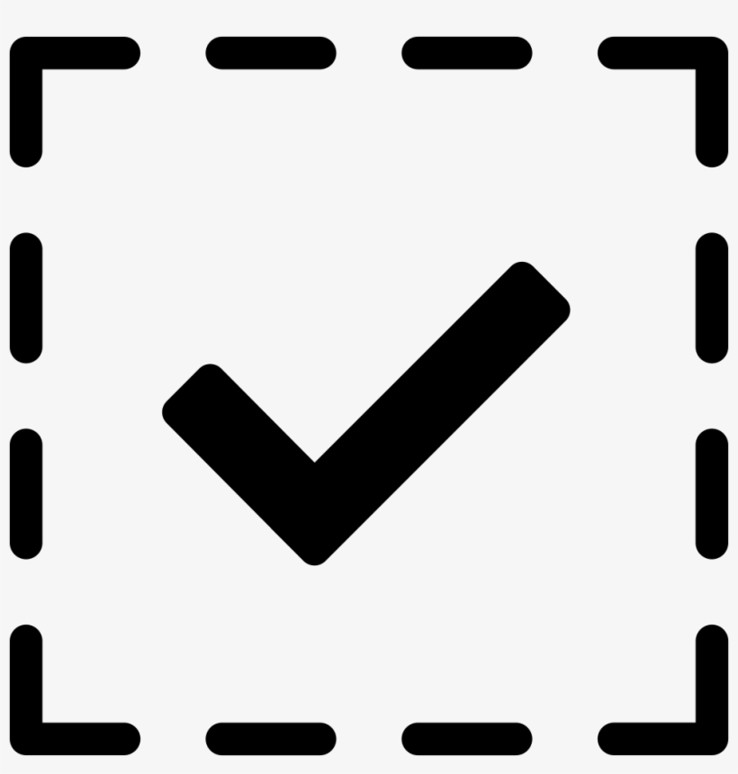 Checked Checkmark Tick Checkbox Comments Symbol Transparent Png
