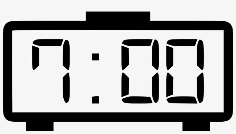 Png File Svg - Digital Clock Icon Png Transparent PNG