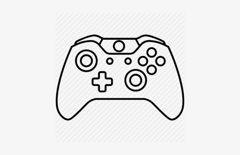 Drawing Game Draw A Xbox 1 Controller Transparent Png 450x450