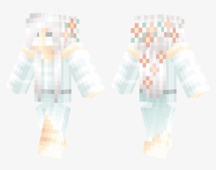 Ghost Girl - Minecraft Skins Girl Bunny Transparent PNG