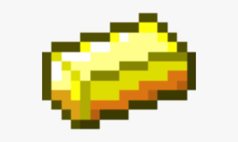 Minecraft Gold Ingot Transparent Png 530x530 Free Download On Nicepng