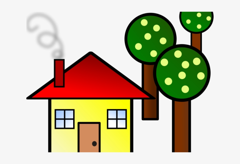 Smoke Clipart House Chimney House Clip Art Transparent Png 640x480 Free Download On Nicepng