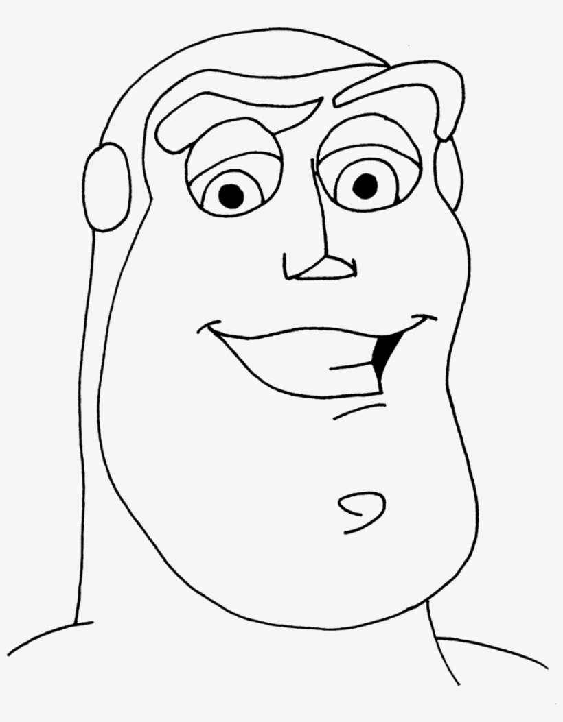 Buzz Lightyear With Christmas Present Toy Story Coloring Page ...   1053x820
