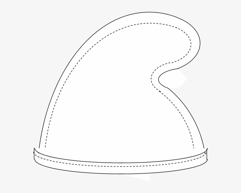 Smurf hat template