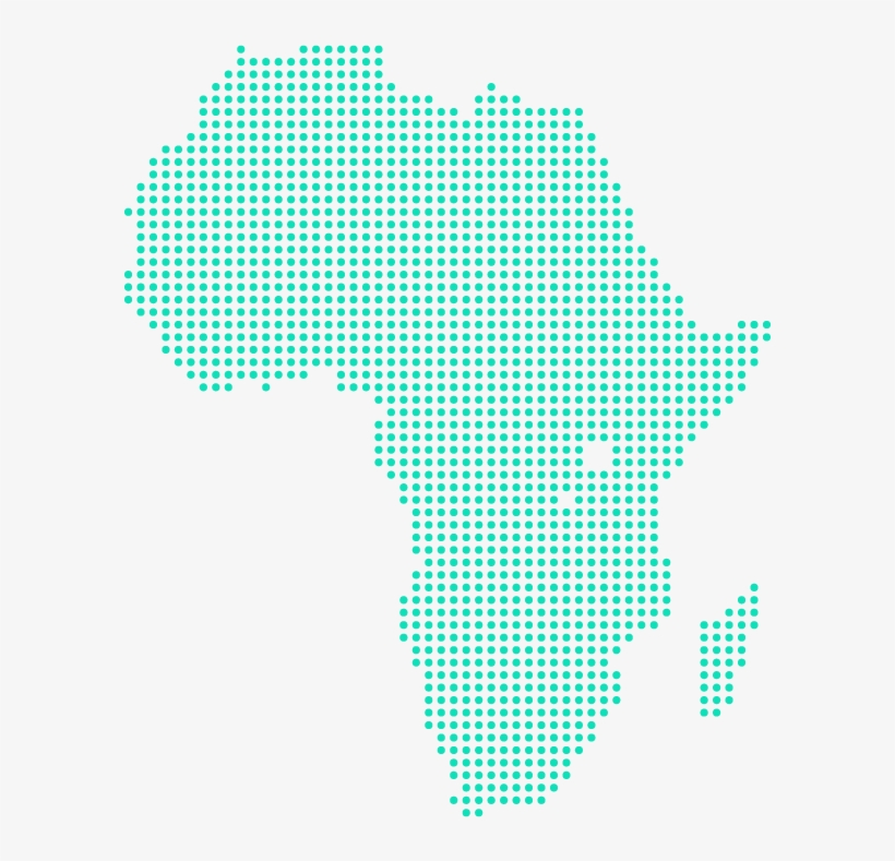 World Map Dot Square Africa Map Dots Png Transparent Png 623x768