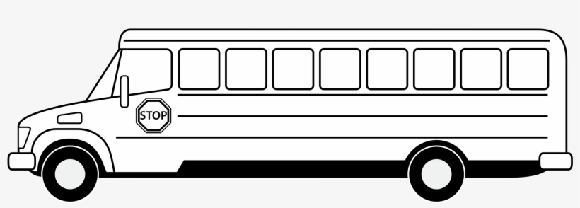 28 Collection Of School Bus Clipart Outline