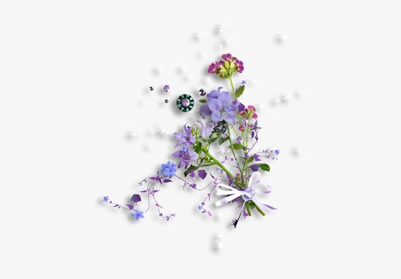 Ramo De Flores Com Fundo Transparente Mais Estreli Flores