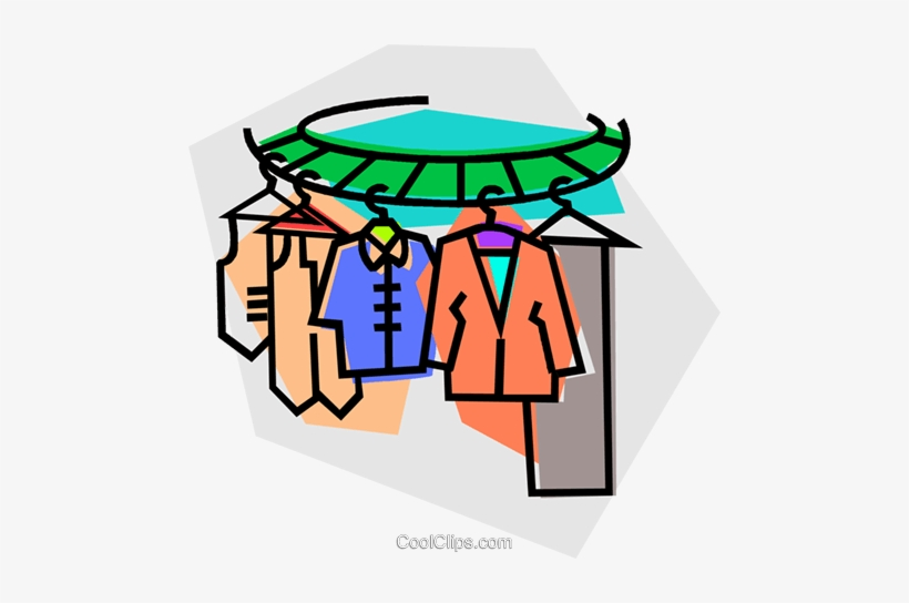 Dry Your Clothes On A Drying Rack Or A Clothesline Clipart - Full Size  Clipart (#2773530) - PinClipart