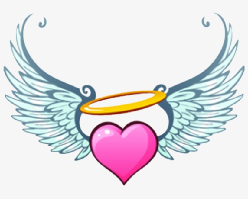Report Abuse Angel Wings Heart Clip Art Transparent Png 1080x724 Free Download On Nicepng