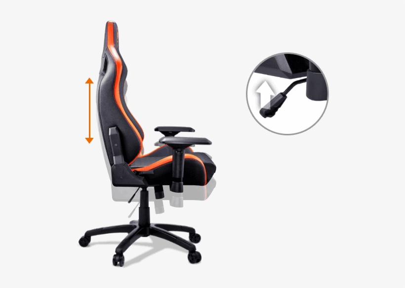 Incredible Cougar Armor S Cougar Armor Gaming Chair Black And Orange Machost Co Dining Chair Design Ideas Machostcouk