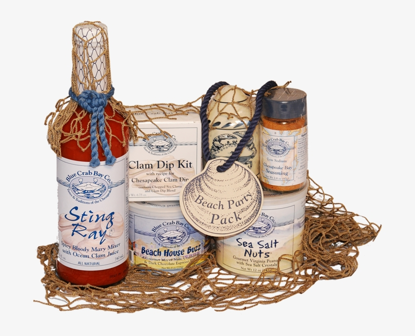 Beach Party Gift Box Blue Crab Baby Sting Ray Spicy Bloody Mary
