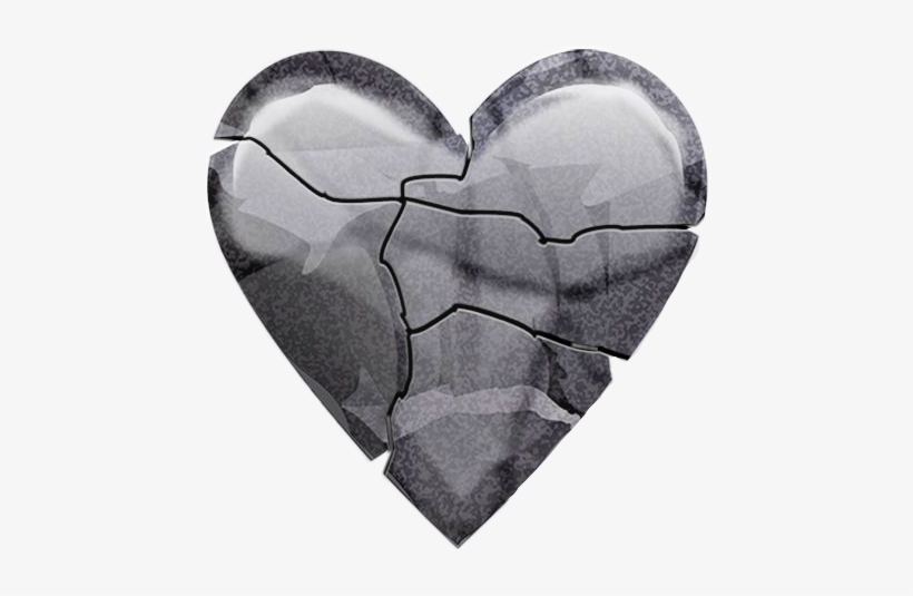 Emoji Ios12 Heart Heartemoji Heartbreak Rock Emojis - Heart