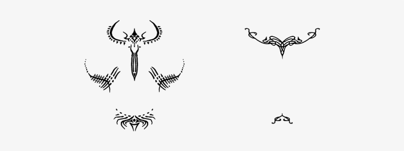 Vallaslindalish Tattoos From Dragon Age Dragon Age Vallaslin