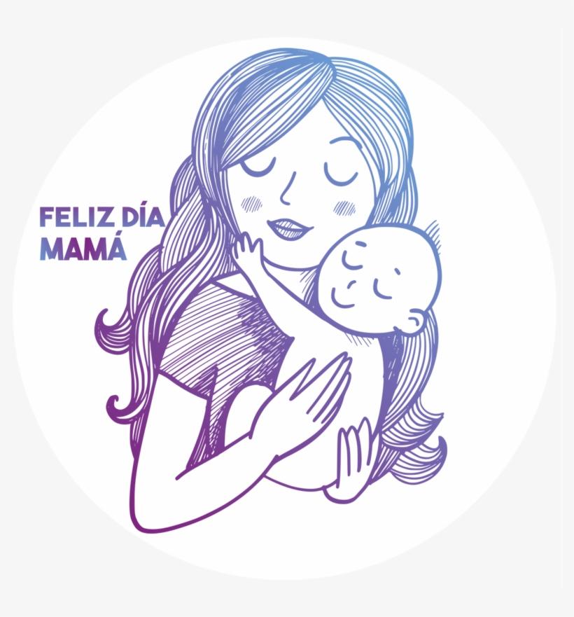 Diamadre Web Madre Soltera Para Colorear Transparent Png
