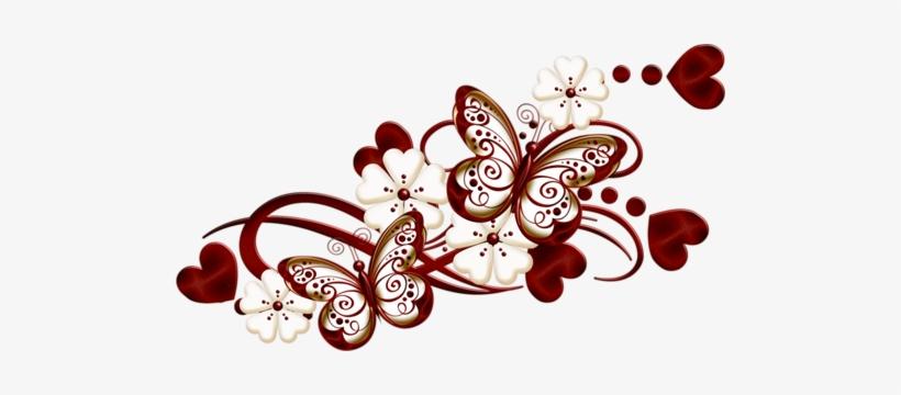0 E9b7d C158cd94 L Mariposas Y Flores Png Transparent Png