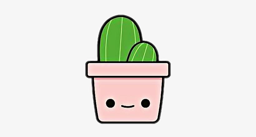 Cactus Cute Kawaii Chibi Aesthetic Tumblr Tumbler Stick Cute