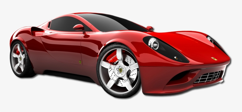 Cool car. Red ferrari dino png