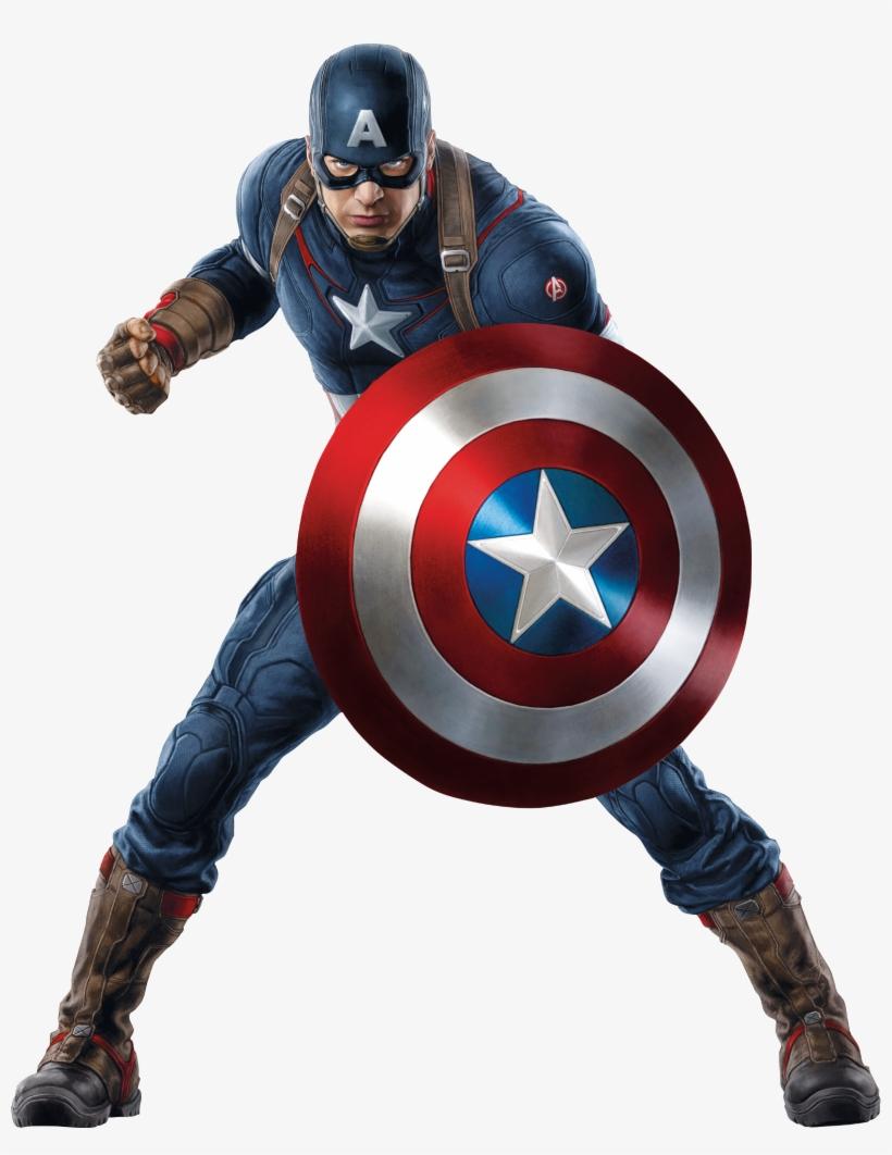 Captain America Capitan America Con Escudo Transparent Png