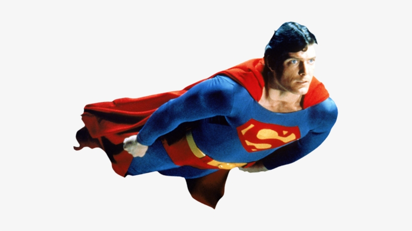 Superman Png Christopher Reeve Superman Transparent