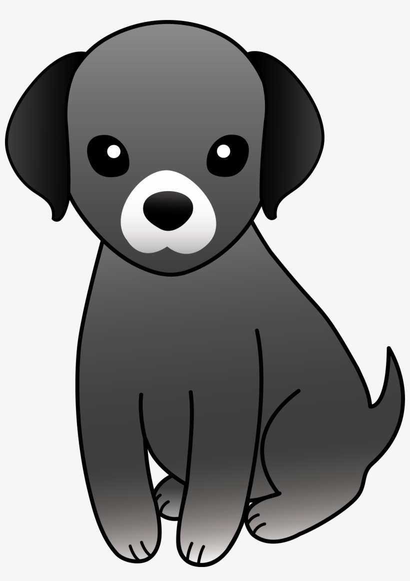 Svg Freeuse Stock Cartoon Dogs Clipart Little Black Dog Clip Art Transparent Png 3401x4650 Free Download On Nicepng