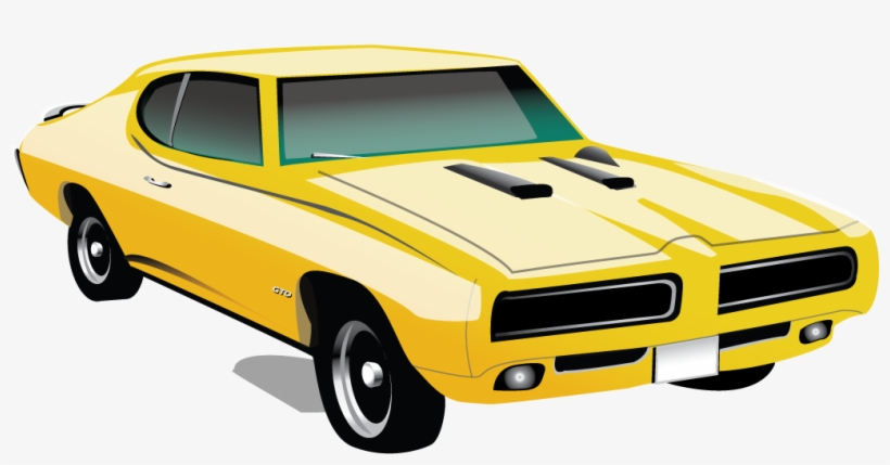 Muscle Car Pontiac Gto Icon Muscle Car Clipart Free Transparent