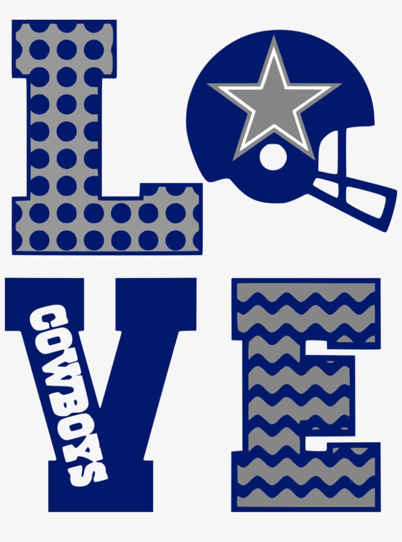 Download Dallas Cowboys Clipart Blue - Love Dallas Cowboys Svg ...