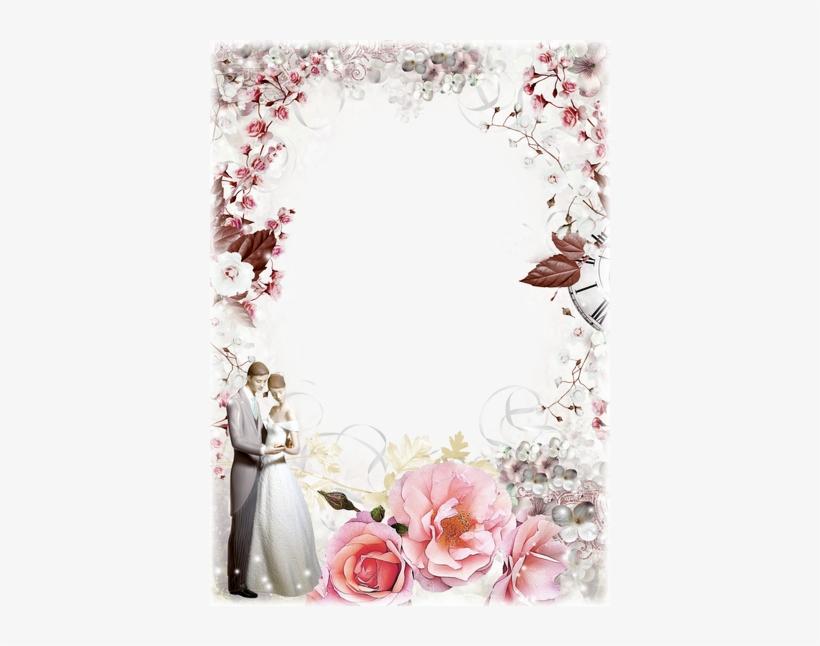 Wedding Photo Frame Png - Wedding Frame Designs Png
