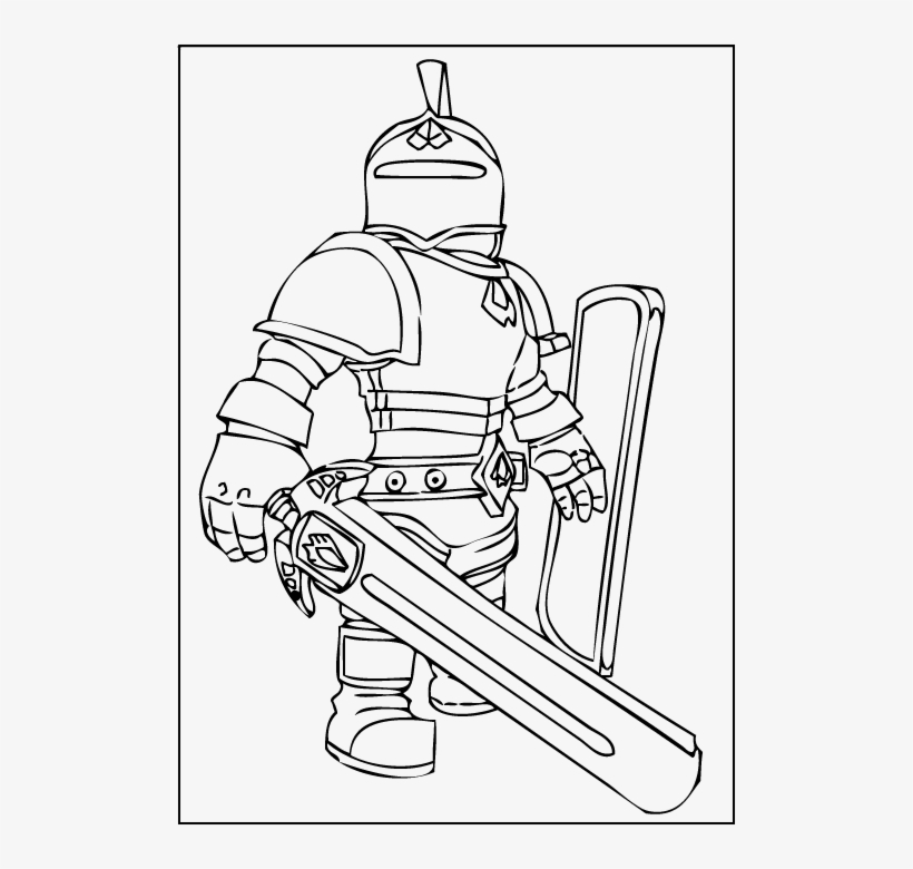 - Roblox Coloring Pages Printable - Free Roblox Coloring Pages Transparent  PNG - 501x700 - Free Download On NicePNG