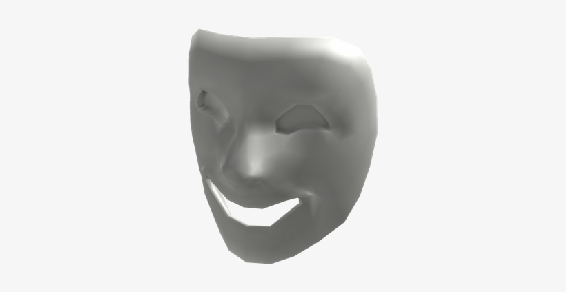 Comedy - Mask In Roblox Transparent PNG - 420x420 - Free