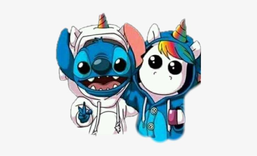 Stitch Unicornio Scfaceemoji Faceemoji Stich