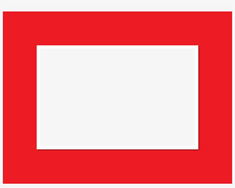 Download Red Rectangle No Background Clipart Borders Transparent
