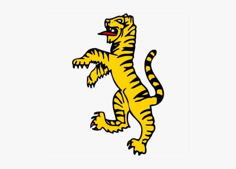 Standing Tiger Clipart Tiger Cat Clip Art Tiger Standing Up Drawing Transparent Png 508x508 Free Download On Nicepng