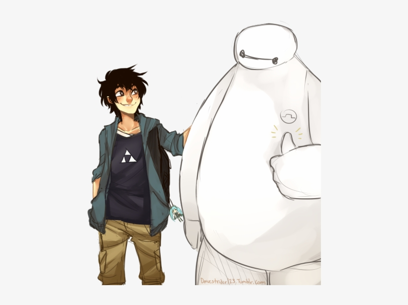 Art Tag Hiro Big Hero 6 Hiro Hamada Baymax Big Hero 6 Ukiyo E Transparent Png 500x543 Free Download On Nicepng