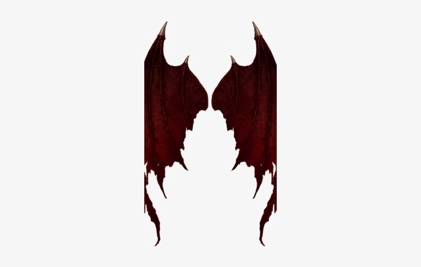 Red Devil Wings Red Devil Wings Png Transparent Png 258x535