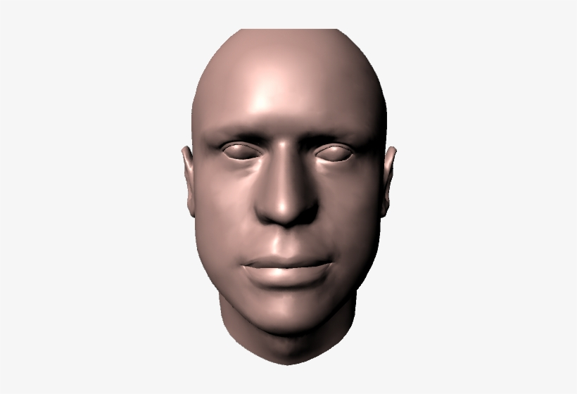 Male Head 3d Head Model Png Transparent Png 640x480 Free