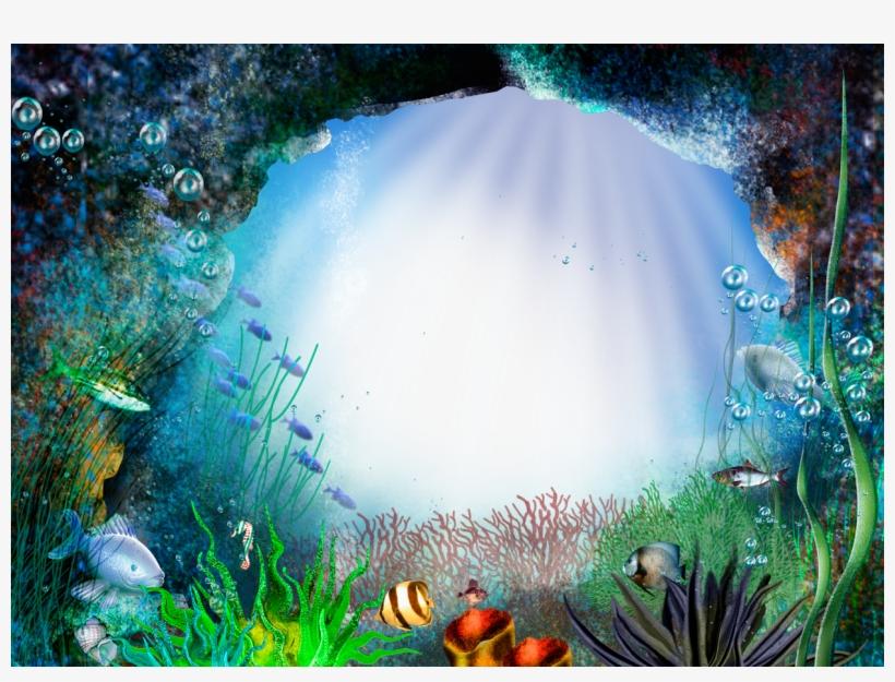 under water frames nature photo frame png transparent png 1240x886 free download on nicepng under water frames nature photo frame