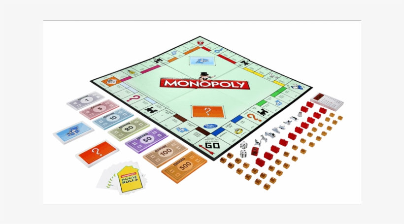 Parker Brothers Italian Monopoly Board Game Transparent Png 645x645 Free Download On Nicepng