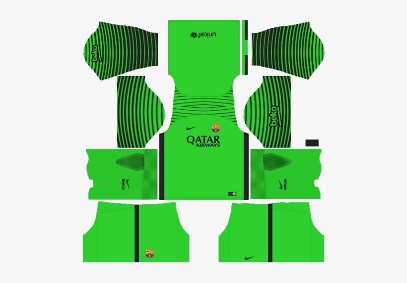 Equipacion Del Barcelona Sc Para Dream League Soccer Transparent ...