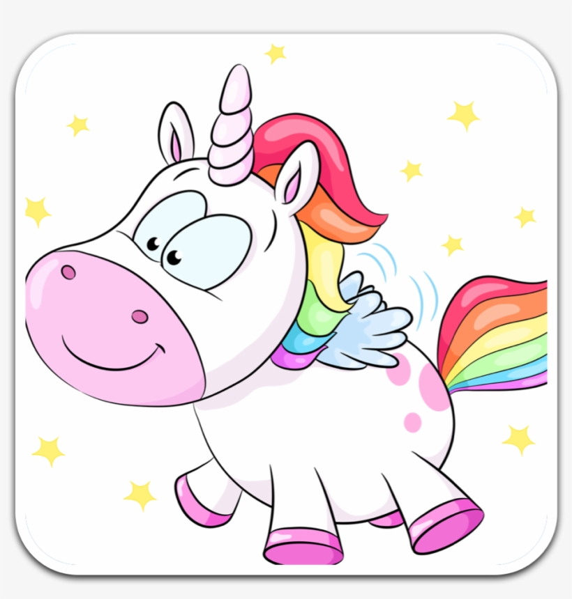 Hand Painted Cartoon Unicorn Vector Collection
