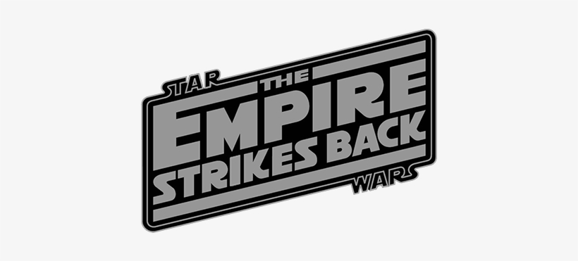 Star Wars Episode V The Empire Strikes Back Star Wars Empire Strikes Back Logo Transparent Png 460x310 Free Download On Nicepng
