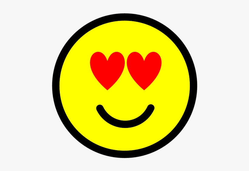 Emoji Emoticon Icon Love Heart Happy Enjoy Smiley
