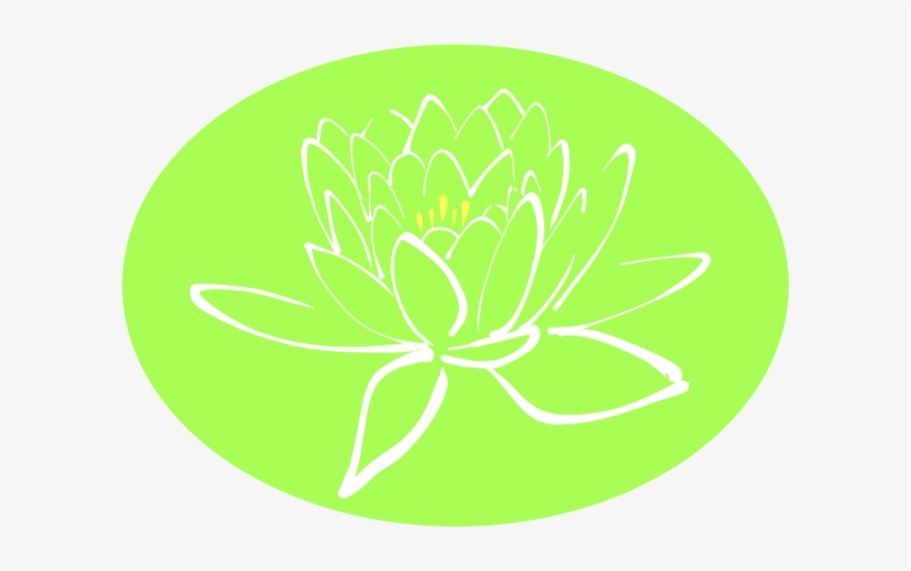 How To Set Use White Lotus Outline Clipart Lotus Flower Outline