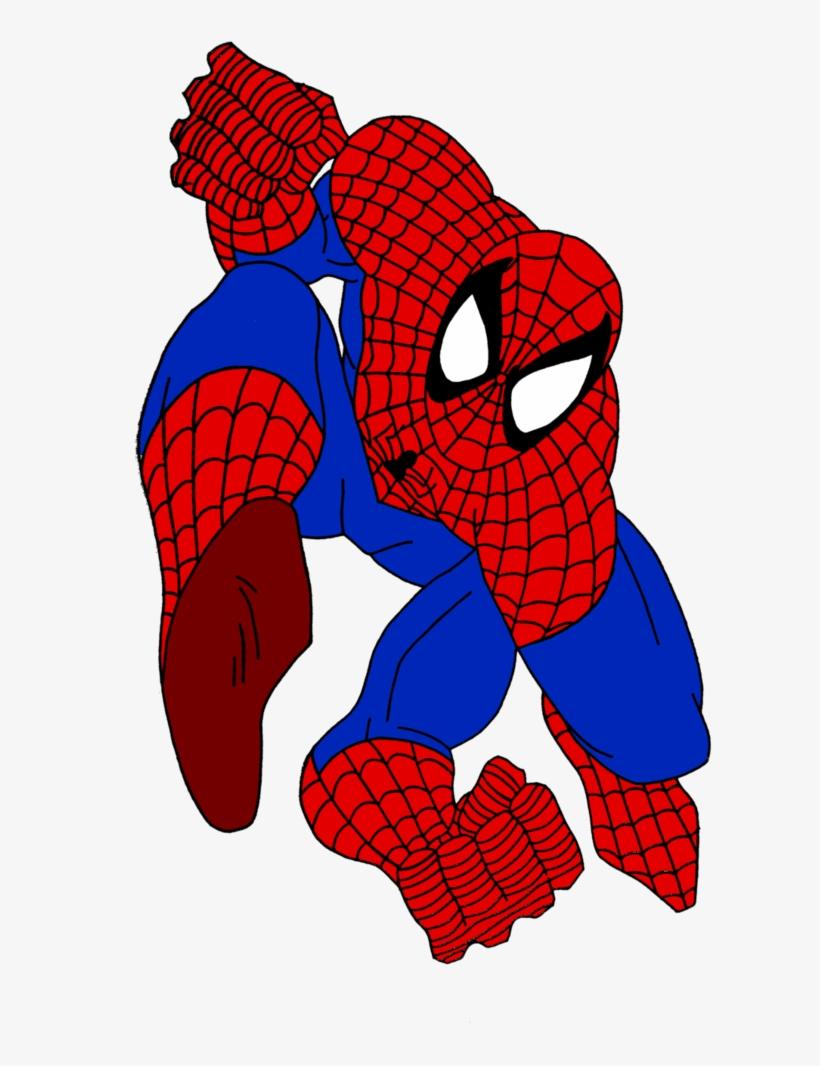 spiderman pose by camdencc on deviantart spiderman upside down